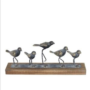 Foreside Home & Garden Rustic Walking Birds